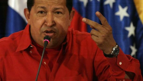 """Chávez: """"Wir wollen nicht dabei sein"""""""