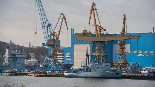 Lürssen bietet am meisten für Peene-Werft