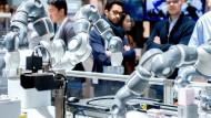 Roboter auf der Hannover Messe