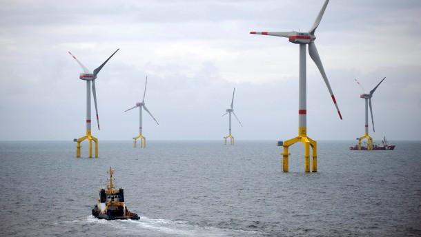 Stromverbraucher sollen für Netze vor der Küste haften