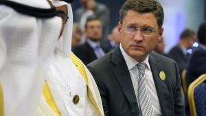 Russland rechnet mit stabilen Ölpreisen