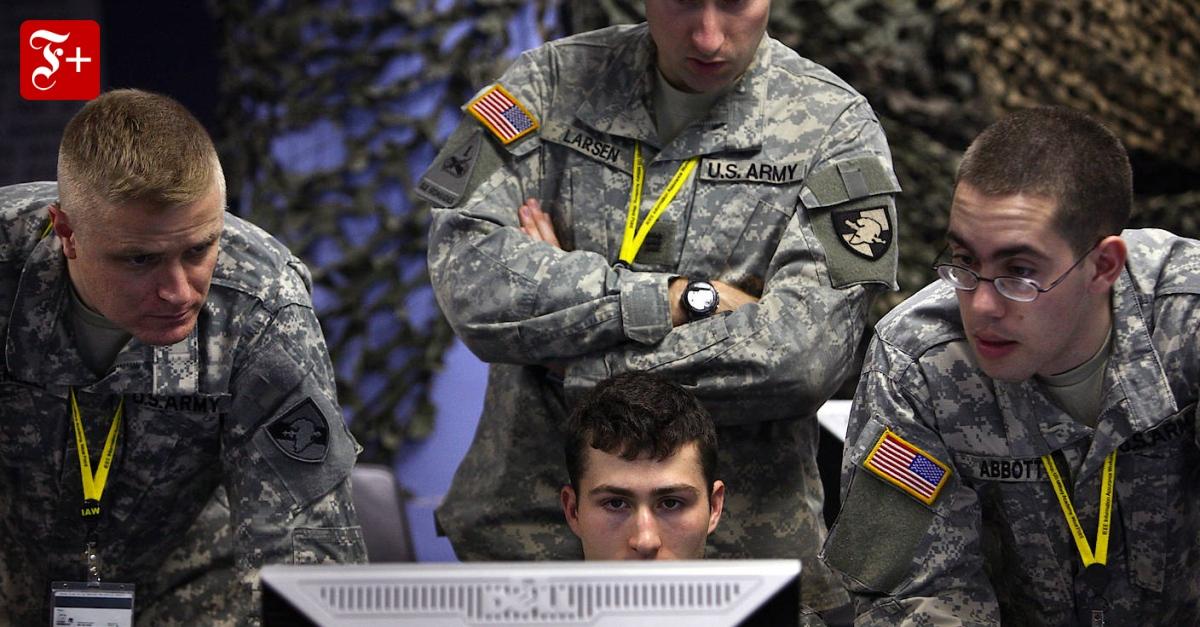Bricht bald der Cyberkrieg los? - FAZ - Frankfurter Allgemeine Zeitung