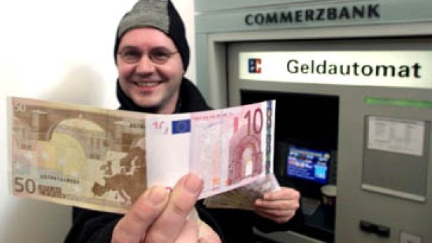 Euro springt über 90 US-Cents