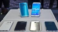 Samsung muss Produktion von S6-Edge-Bildschirmen hochfahren