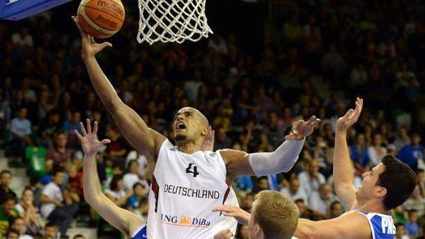 Zweiter Sieg für deutsche Basketballer