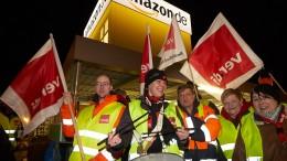 Amazon muss Streiks auf Firmenparkplatz hinnehmen