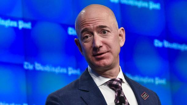 Jeff Bezos ist jetzt 100 Milliarden Dollar reich