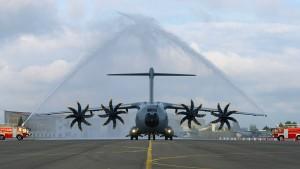 Der A400M bleibt Zankapfel für die Bundeswehr