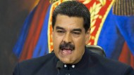 Hat seine Land in die Katastrophe gesteuert: Venezuelas Regent Nicolas Maduro