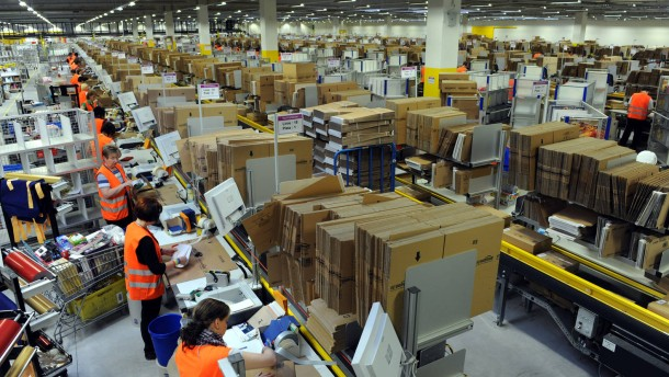 Amazon Logistik-Zentrum in Bad Hersfeld