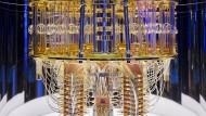 """Innenansicht des """"IBM Quantum System One"""""""