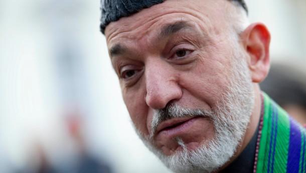 Karzai macht Nato für Tod von acht Kindern verantwortlich