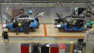 In Spartanburg bauen BMW-Mitarbeiter beliebte Geländewagen für die ganze Welt zusammen.
