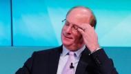 Larry Fink führt den größten Vermögensverwalter der Welt.