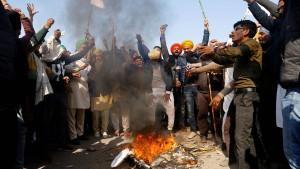 Aufstand der indischen Bauern