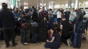 Streik in Israel mit Schließung von Börse und Flughafen