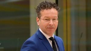 Rücktritt von Eurogruppenchef Dijsselbloem gefordert