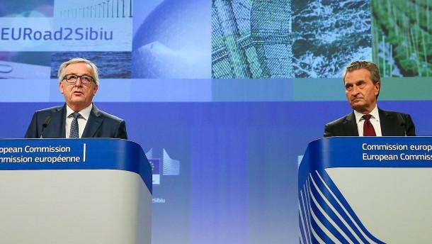 Das steht drin im Billionen-Haushalt der EU