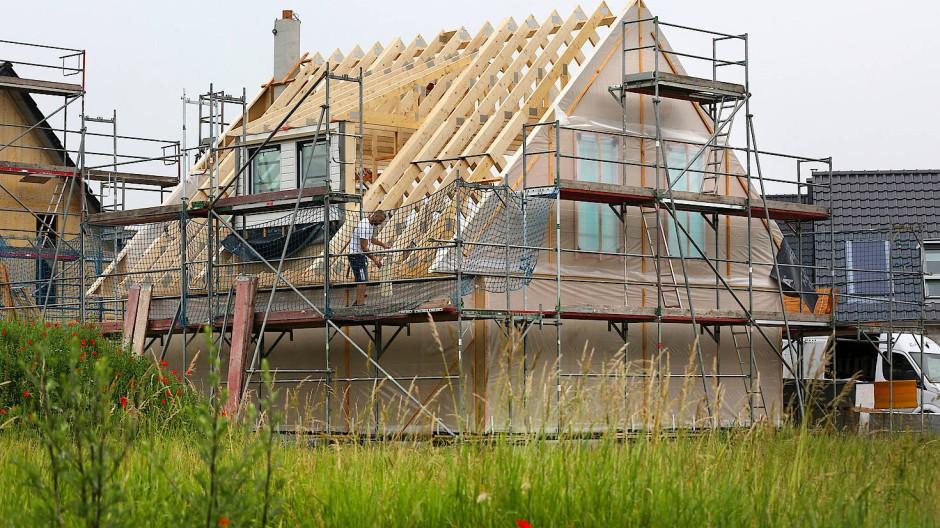 Bau eines Fertighauses in Mecklenburg-Vorpommern