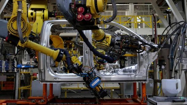 Roboter bringen Arbeitsplätze zurück in die Industrieländer