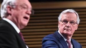 EU und Briten einigen sich auf Übergangsfrist