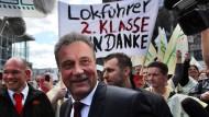 Weselsky ist gegen PR-Gag der Bahn
