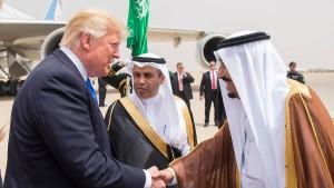 Amerika und Saudi-Arabien schließen Mega-Waffendeal ab