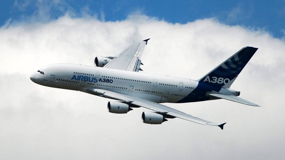 Ein Airbus A380