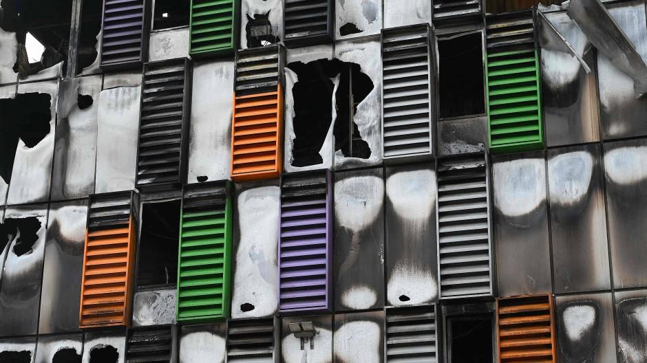 Ausgebrannt: OVHcloud-Rechenzentrum in Straßburg