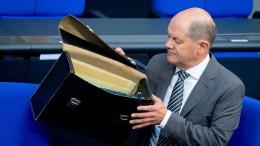 Scholz will Schuldenbremse von 2023 an wieder einhalten