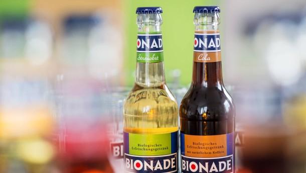 Bionade ruft Limonaden zurück