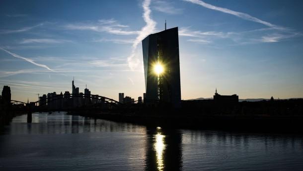 Die EZB bemüht sich um Deeskalation