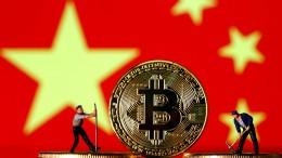 Bitcoin-Kurs bricht ein