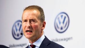 Keine neuen VW-Diesel in Amerika