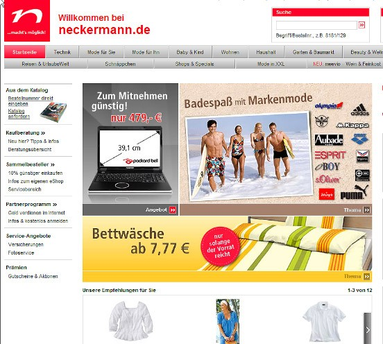 neckermann kataloge online