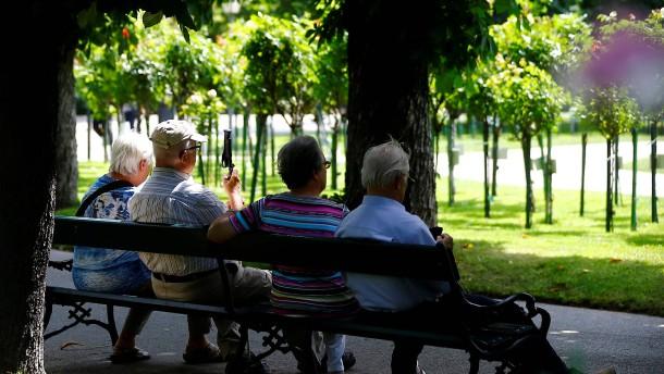 Renten steigen wieder um mehr als 3 Prozent