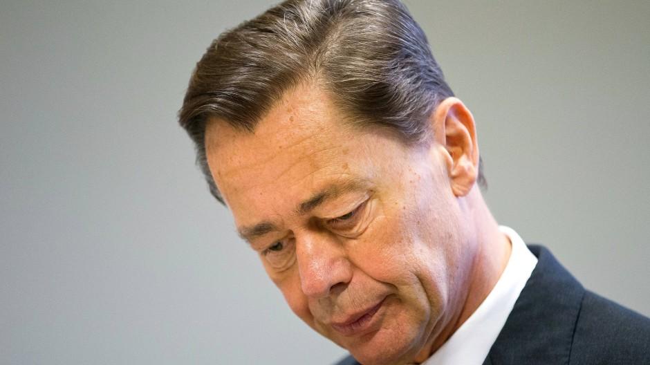 Thomas Middelhoff am 21.10.2014 im Landgericht in Essen