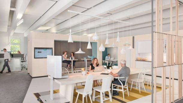 B ro einrichtung neue raumkonzepte f r den arbeitsplatz for Raumgestaltung cafe