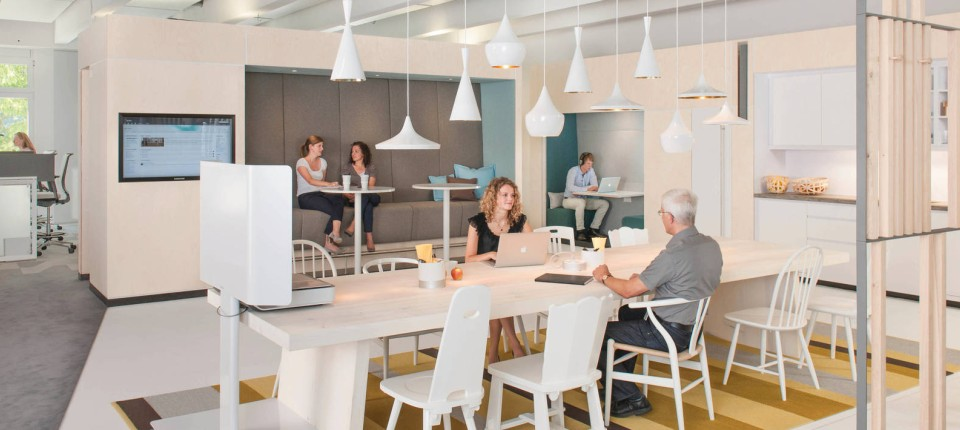 Büro-Einrichtung: Neue Raumkonzepte für den Arbeitsplatz der Zukunft