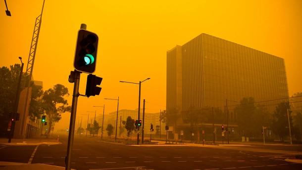 Australische Regierung kommen die Feuer teuer zu stehen