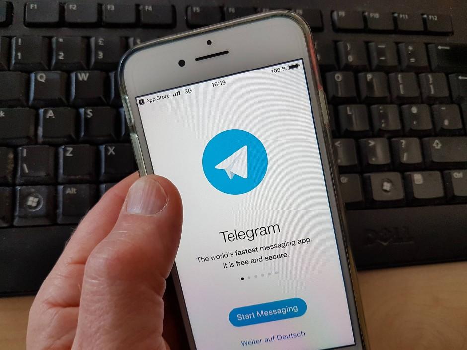 Die Telegram-App