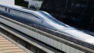 Neuer Magnetzug soll durch Japan rasen