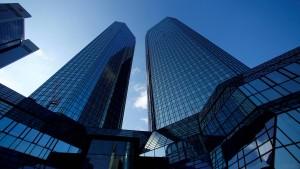 Spekulationen um die Deutsche Bank – 8 Prozent Kursplus