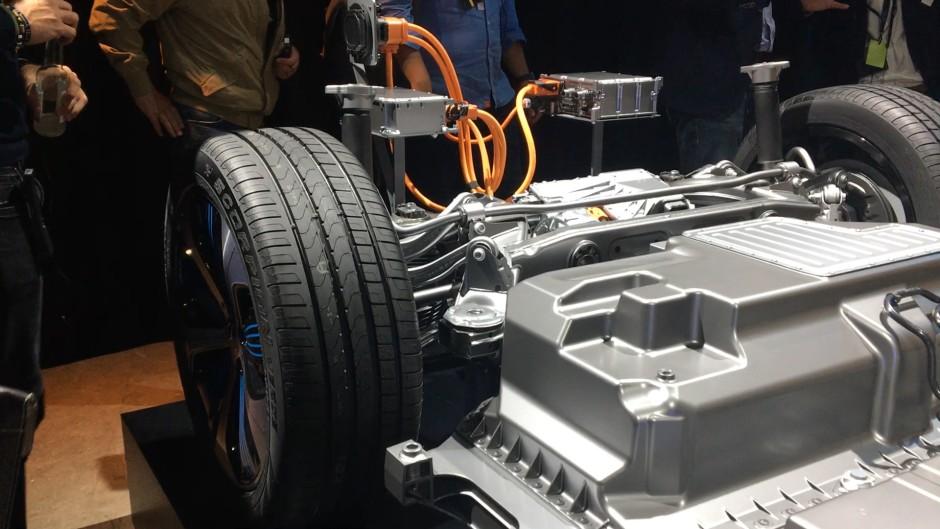 Autopräsentation von Daimler in Stockholm zum Thema E-Mercedes