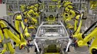 Panamera-Produktion im Porsche-Werk Leipzig