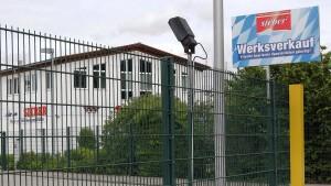 Großmetzgerei Sieber meldet Insolvenz an
