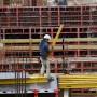 Im Baugewerbe ist die Beschäftigung zwischen Oktober und Dezember um 19.000 Personen gegenüber dem Jahr 2015 gestiegen.
