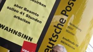 Massive Streiks bei der Post aufgeschoben