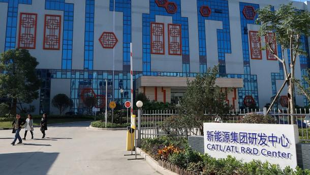 Chinesischer Batteriehersteller legt schon bald in Thüringen los