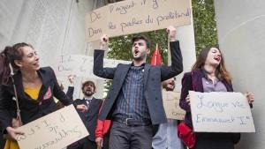 Proteste behindern Verkehr in Frankreich